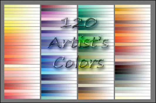 120 Artist's Colors