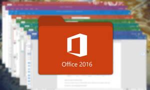 Microsoft Office 2016 Folder Icon