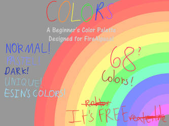 Colors: A Beginner's Color Palette 4 FireAlpaca by TheYummyPie