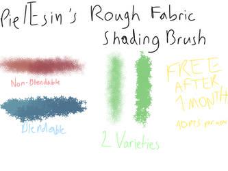 [Now Free] Pie/Esin's Rough Fabric Shading Brush by TheYummyPie