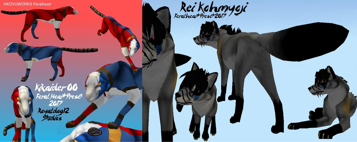 Rei Kohmyoji and Kikaider00 FH Preset .FHP Files by Royaldog12