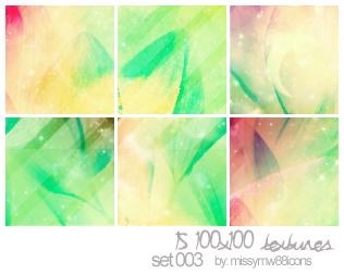 15 100x100 Textures - Set 003 by hakanaidreams