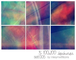 15 100x100 Textures - Set 005 by hakanaidreams