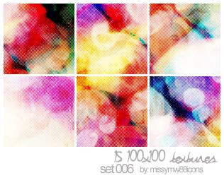 15 100x100 Textures - Set 006 by hakanaidreams