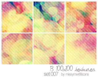 13 100x100 Textures - Set 007 by hakanaidreams