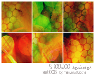 15 100x100 Textures - Set 008 by hakanaidreams