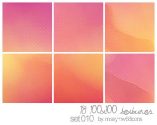 18 100x100 Textures - Set 010 by hakanaidreams