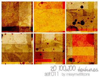 20 100x100 Textures - Set 011 by hakanaidreams