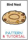 Plush Pattern and Tutorial - Bird Nest