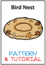 Plush Pattern and Tutorial - Bird Nest by catfruitcup