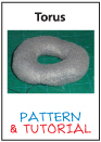 Plush Pattern and Tut Sewing a Torus aka doughnut by catfruitcup