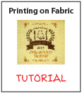 Tutorial - Printing onto Fabric using an Injet by catfruitcup