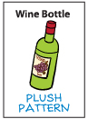 Pattern - Wine Bottle by catfruitcup