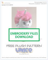 Embroidery files for Pattern - Unico