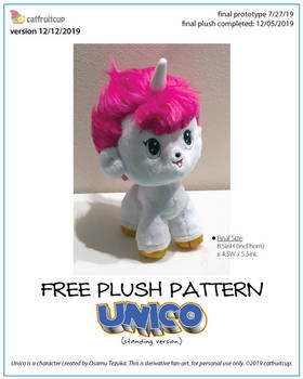 Pattern - Unico Fanart Plush