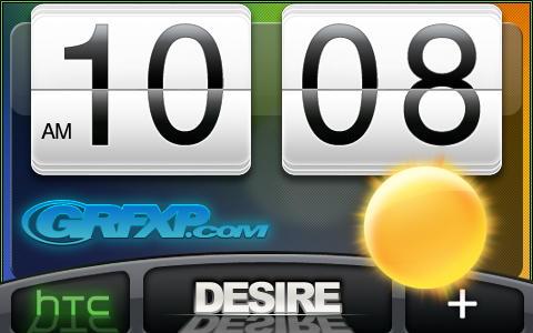 HTC Desire SenseUI BW Skin by KeyzerSoze