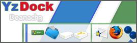 Yz Dock Theme Deanach3 White by KeyzerSoze