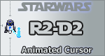 R2-D2 Animated Windows Cursor by KeyzerSoze