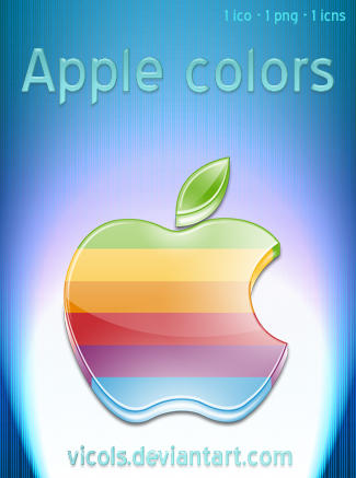 Apple colors by vIcOls
