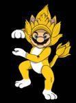 Giga Cat Mario Super Saiyan. by Mario-19