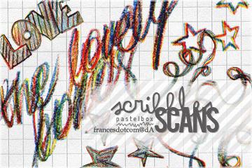 scribbles scans by francesdotcom