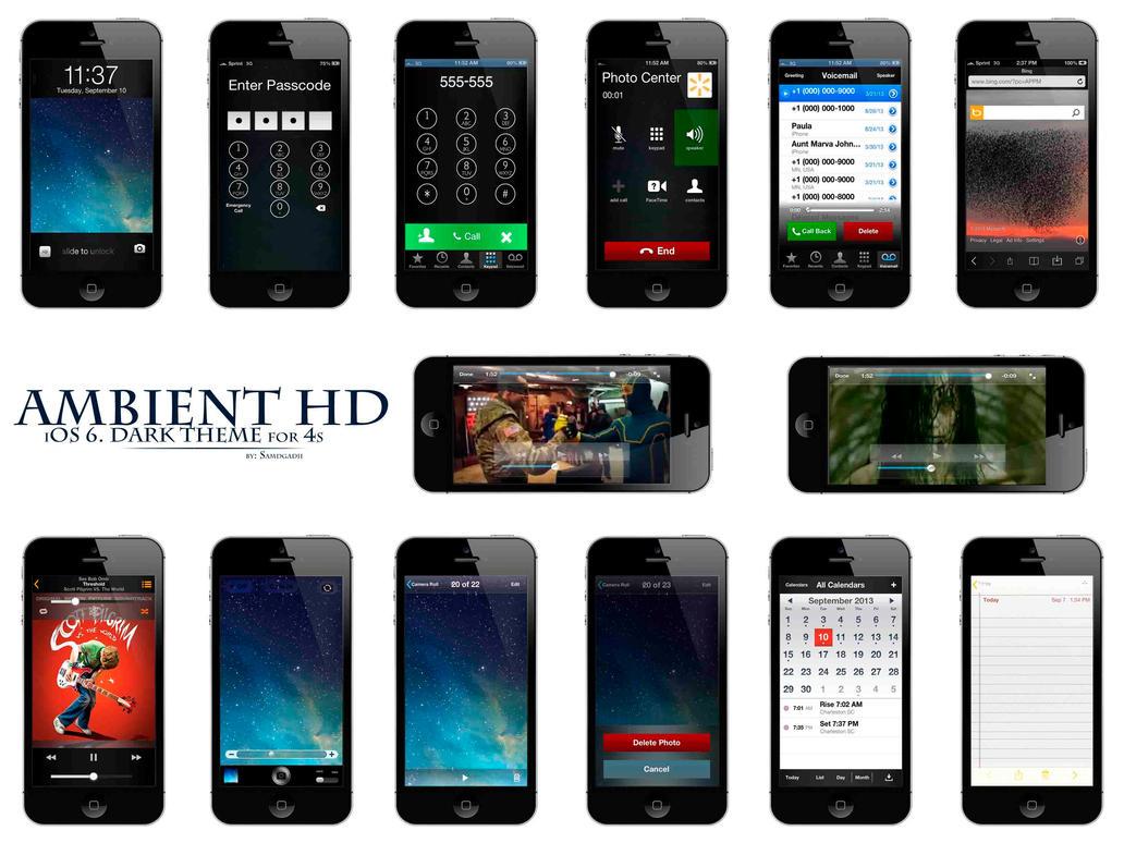 Ambient HD (Black) by samdgadii