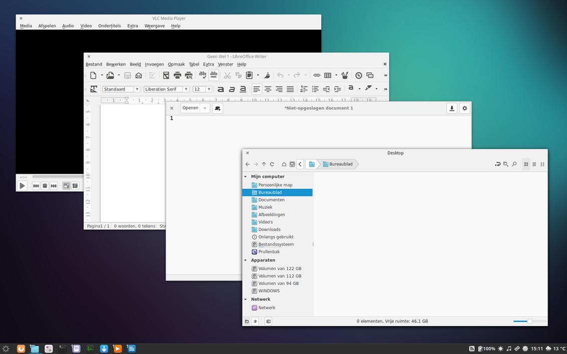 Ninix (GTK theme) (a light Numix variant) by robrobinbin