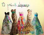 15 Print Dresses Big Pack
