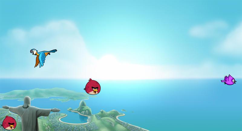 Angry Birds by Shajanjp