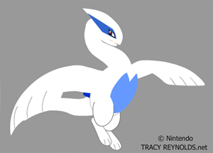 Lugia (no sound) by Calicougar