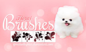 Flower brushes by yssietwilighter
