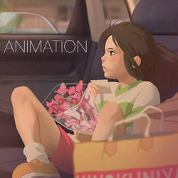 Chihiro Animation by Kuvshinov-Ilya