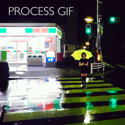 `Green` Process GIF by Kuvshinov-Ilya
