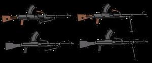 Walfas Custom Prop: Bren light machine gun