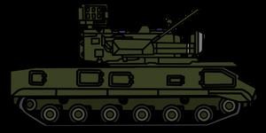 Walfas Custom Prop: 9K22 Tunguska