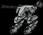 Walfas Custom Prop: Metal Gear REX V3