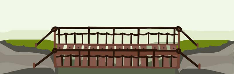 Walfas Custom Background: Rope Bridge