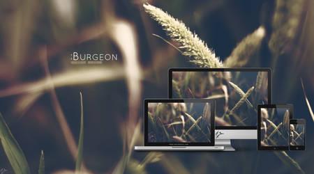 Burgeon wallpaper