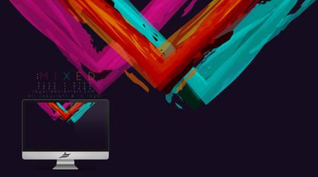 Mixed wallpaper by i5yal