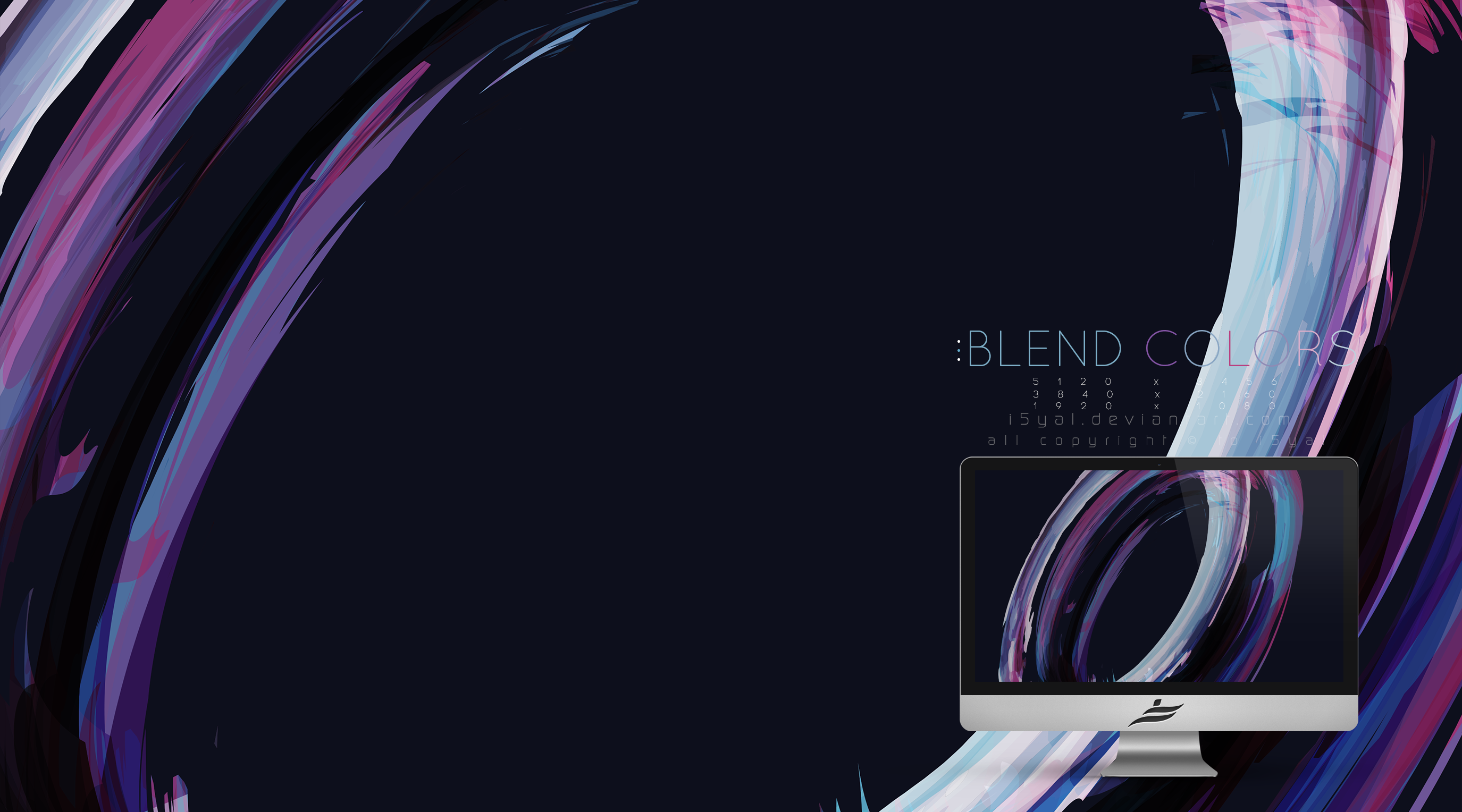 Blend Colors wallpaper by i5yal