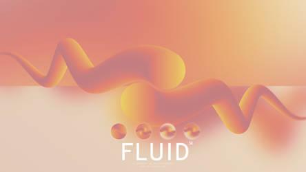 Fluid wallpaper by i5yal