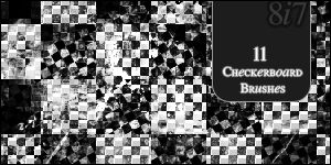 Checkerboard Brushes.