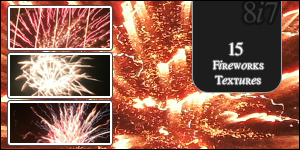Fireworks Textures 2. by ohemjayy