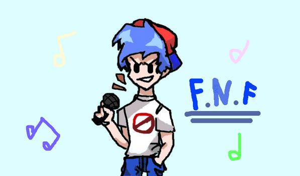 FNF BF fanart:3