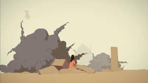 Overwatch Short Fan Animation - Numbani