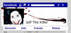 Jeff The Killer's Facebook page