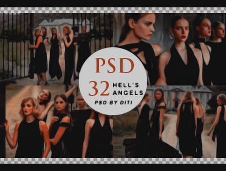 Psd 32  Hell's Angels By Diti