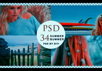 Psd 34  Summer Bummer By Diti