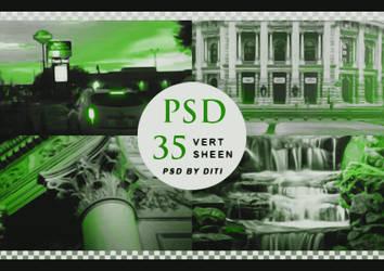 Psd 35  Vert Sheen By Diti