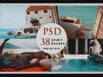 Psd 38  Spirit Escape By Diti